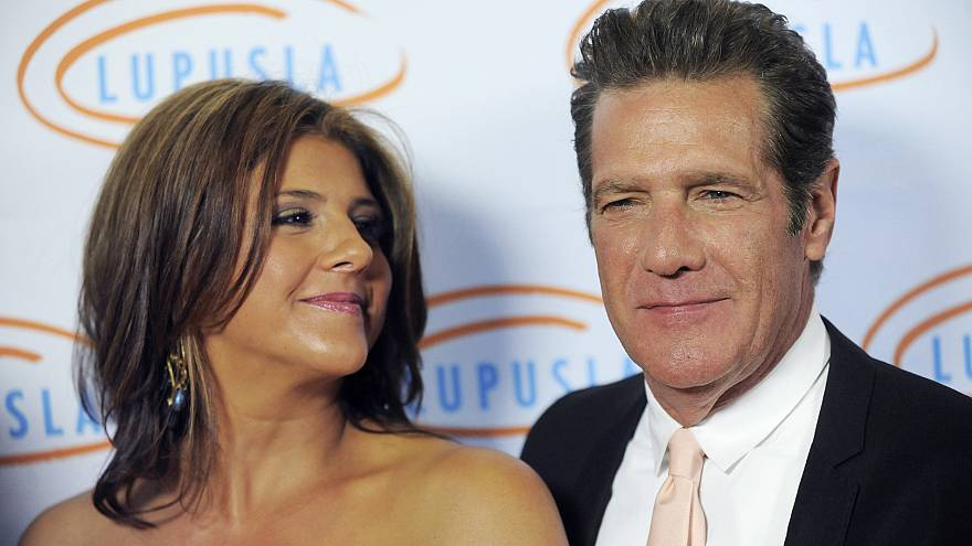 Image: Honorees Glenn Frey and his wife Cindy