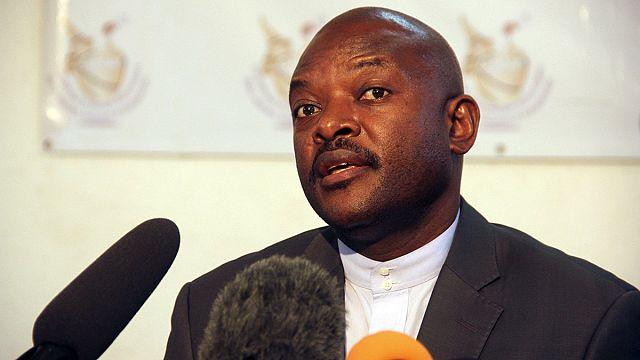 Şiddetli eylemler caydırmadı: Nkurunziza resmen aday