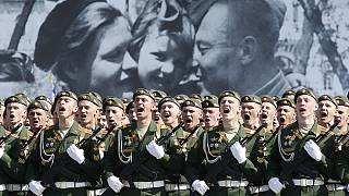 روسیه؛ بزرگداشت هفتادمین سالگرد پیروزی ارتش سرخ در برابر آلمان نازی