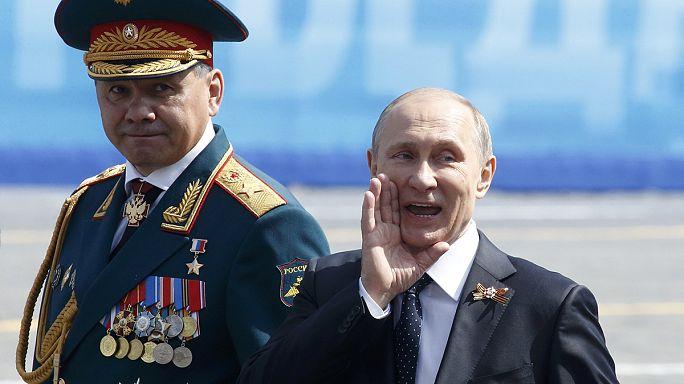 Boudé par les Occidentaux, Poutine les remercie pour la victoire de 1945