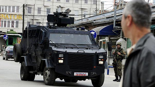 """ملاحقة """"مجموعة مسلحة """" من قبل الشرطة في مقدونيا"""