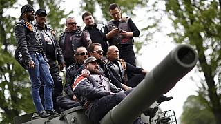 آلمان مانع ورود موتورسواران روس شد