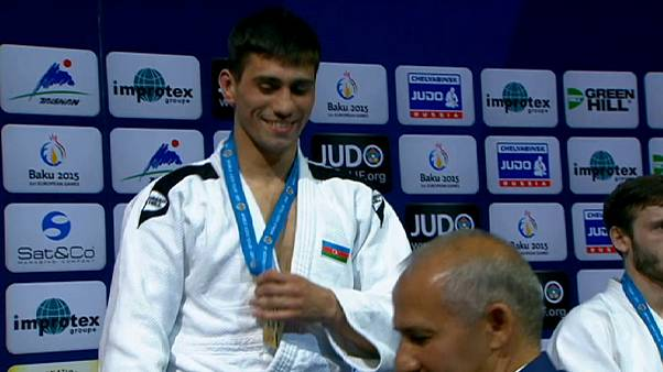 Conway stuns world number one in Baku Judo Grand Slam