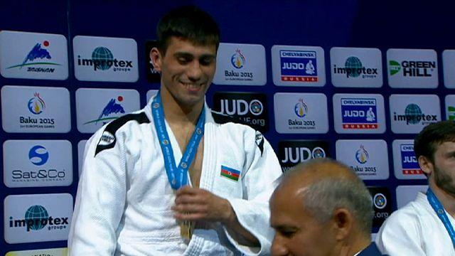 Judo: Bakü Grand Slam'de sürprizler kazandı