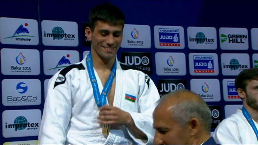Conway stuns world number one in Baku Judo Grand Slam