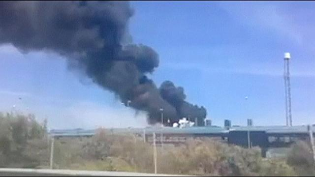Four killed after Airbus military plane crashes in southern Spain