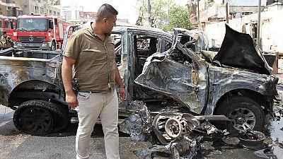 Irak: Anschlag im zentralen Karrada-Viertel Bagdads