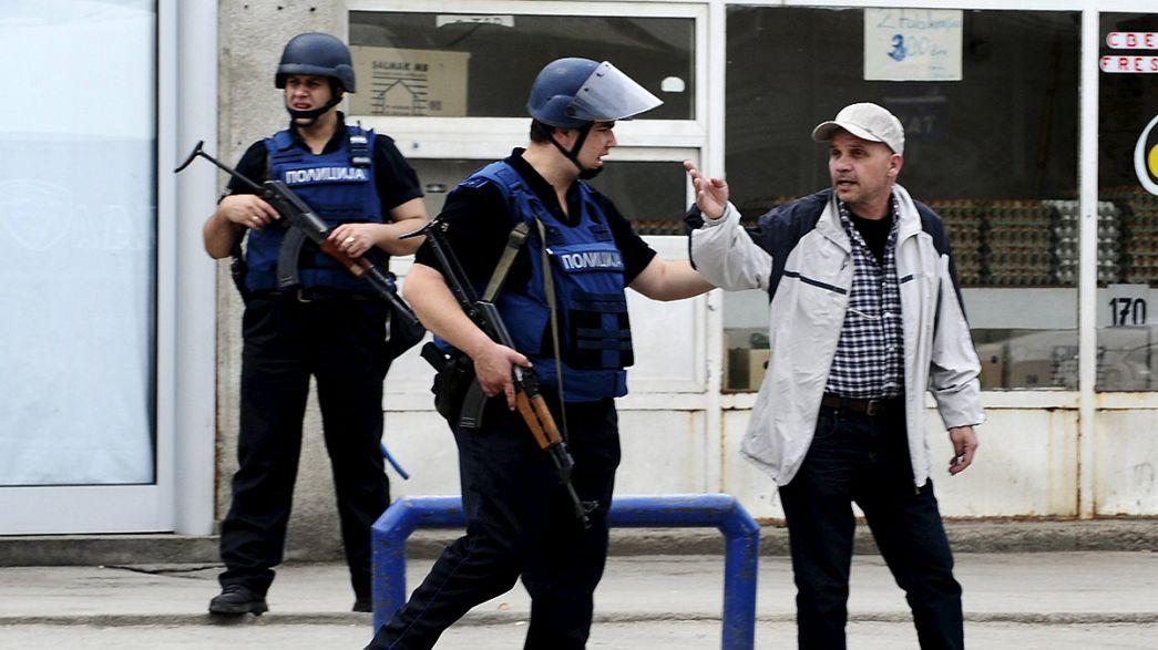 Cinco policías mueren en operación contra grupo armado en Macedonia