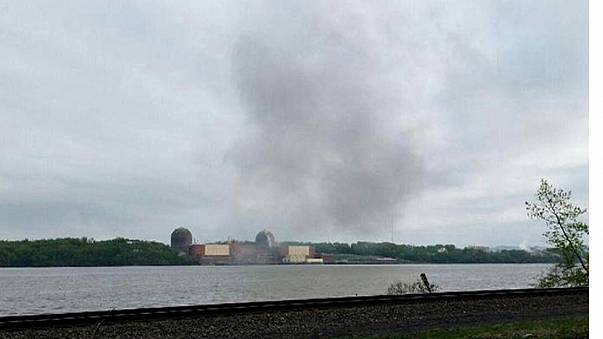 Fire breaks out at nuclear power plant in New York state
