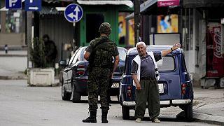 Macédoine : scènes de guérilla dans une ville à la frontière avec le Kosovo