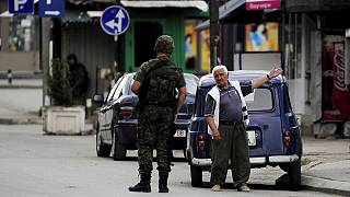 FYR Macedonia mourns 6 police officers killed in gun battle