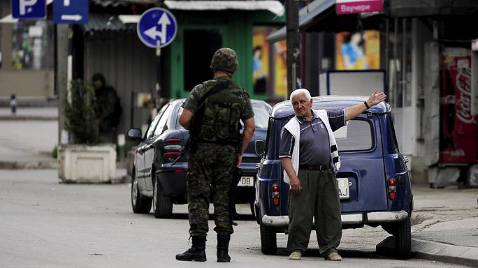 FYR Macedonia mourns 6 police officers killed in gun battle