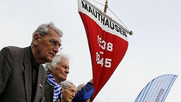 Commémoration de la libération du camp de Mauthausen