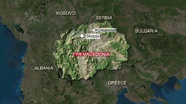 Macedonia: dos días de luto nacional tras la muerte de ocho policías en una operación