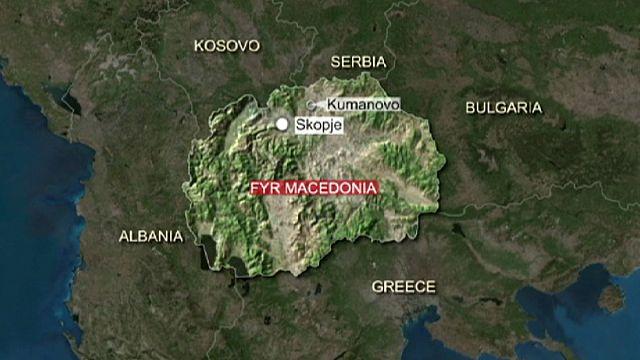 Makedonya'da polisle silahlı grup arasında çatışma: 22 ölü