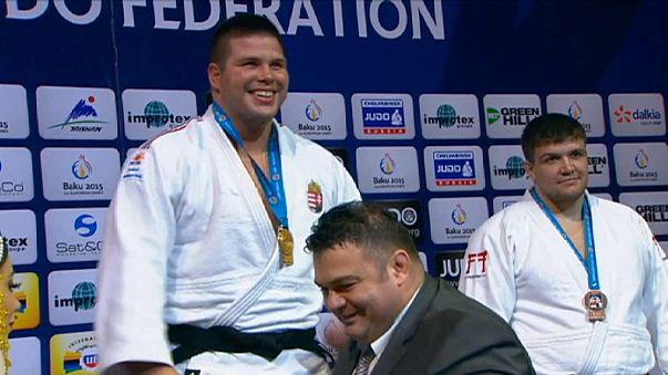 Judo: Belkıs Zehra Kaya Bakü'de bronz kazandı