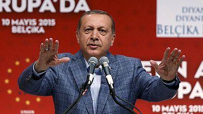 Erdoğan in Karlsruhe: Jubel und Zusammenstöße