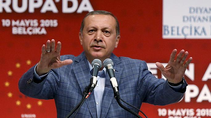 Erdogan: Az új Törökország építése Németországban kezdődik