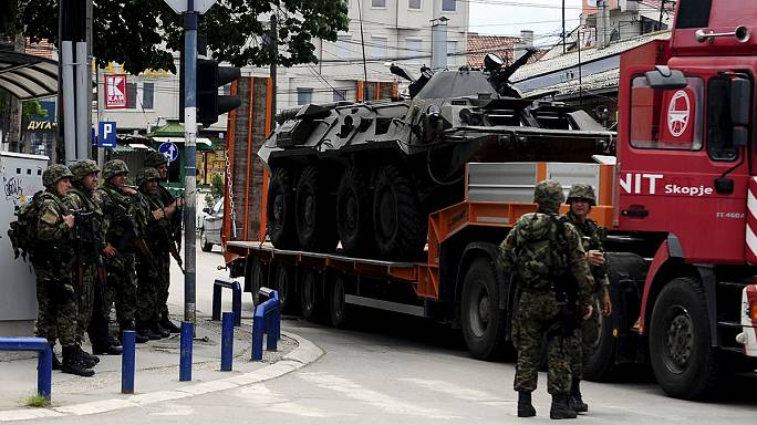 أكثر من 20 قتيلا إثر مواجهات بين الشرطة المقدونية ومسلحين