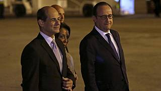 François Hollande visita Cuba