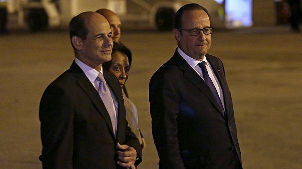 François Hollande als erster französischer Präsident auf Kuba