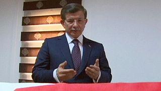 Váratlanul Szíriába érkezett a török kormányfő