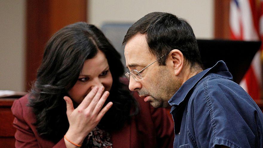 Image: Larry Nassar, a former team USA Gymnastics doctor, who pleaded guilt
