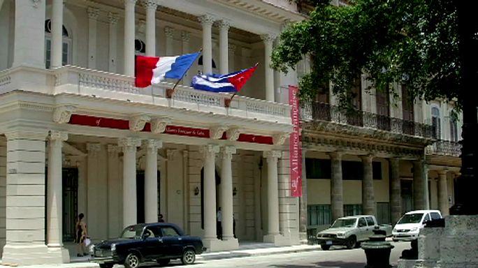 Besuch aus Frankreich weckt bei Kubanern Hoffnungen