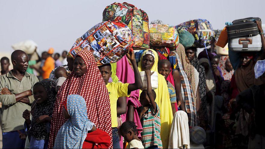 شبح الجوع يخيم على الناجين من بوكو حرام في بلدات نيجيرية