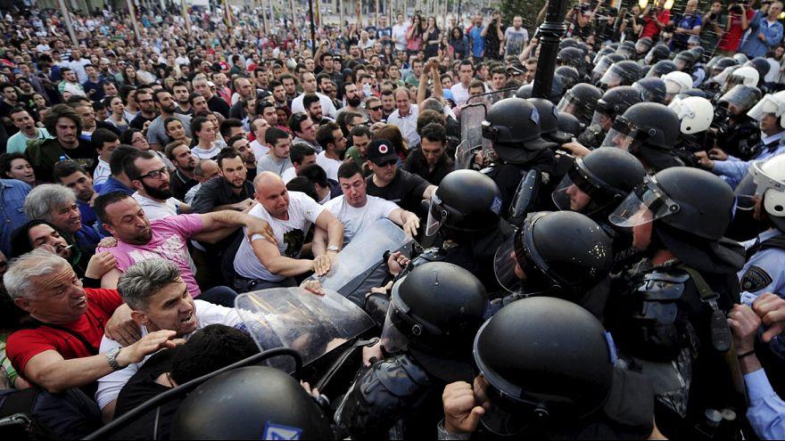 مقتل 22 شخصا في مواجهات بين الشرطة ومسلحين شمال مقدونيا