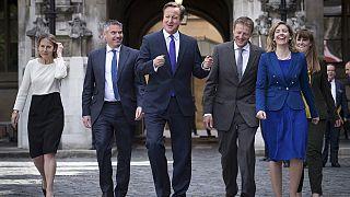 بریتانیا؛ دیوید کامرون اعضای جدید کابینه را معرفی کرد
