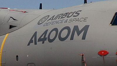 Airbus shares slide after A400M crash