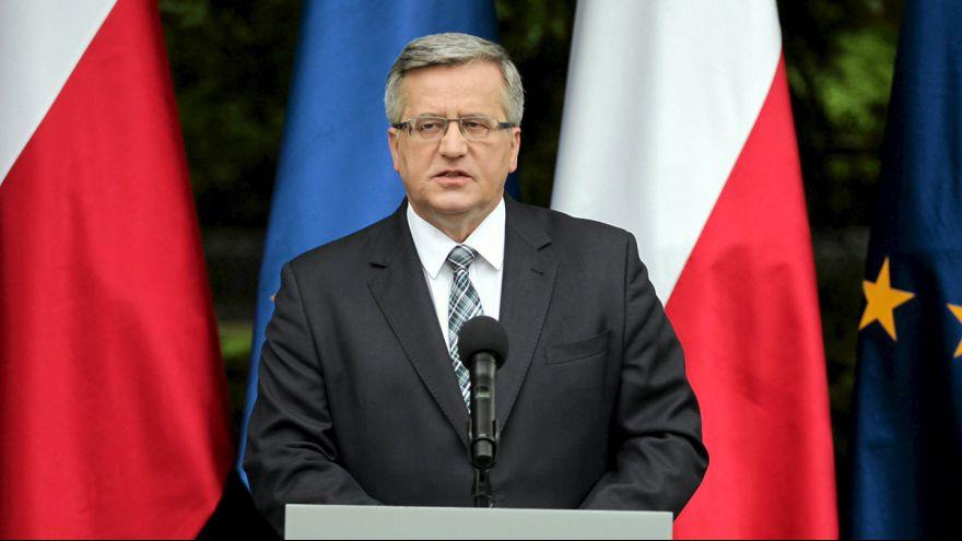 Kiélezett küzdelmet hozhat a lengyel elnökválasztás második fordulója