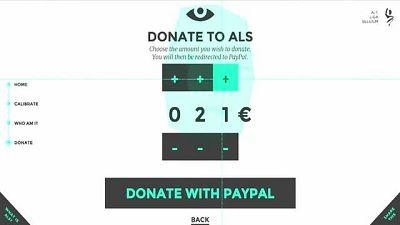 Eye Click Donation (ALS Liga)