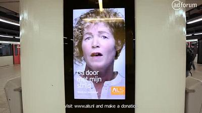 Dead patient starts talking (ALS Foundation Netherlands )