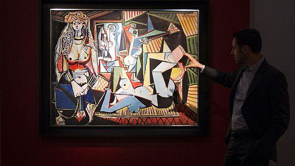 نساء الجزائر لبيكاسو، أغلى لوحة زيتية تباع في مزاد