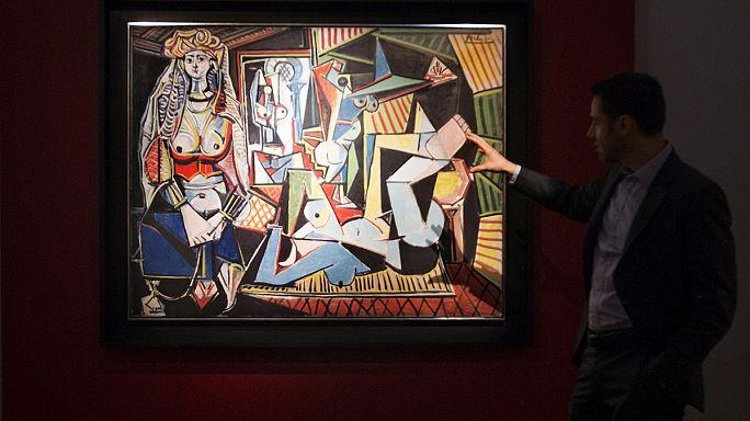 Picasso'nun eseri tüm zamanların rekorunu kırdı