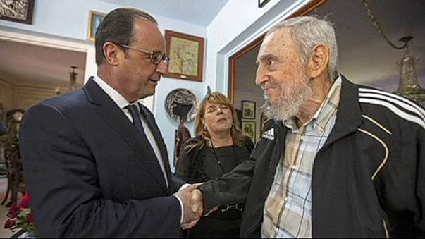 La Francia si prepara alla Cuba libre. Hollande incontra i Castro