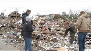 US battered by severe storms and tornadoes