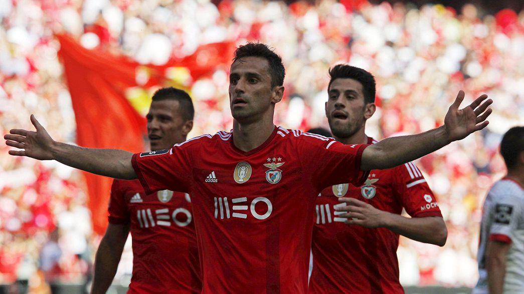 Liga Portuguesa, J32: Benfica a um passo do título mas Porto ainda sonha