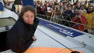 """La navegante francesa Catherine Chabaud, """"Mujer del Año 2015"""""""