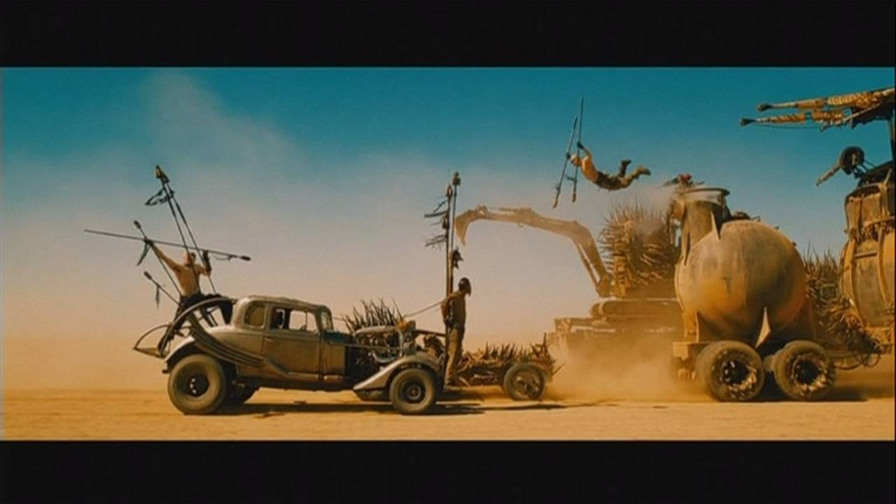 """Mad Max - Fury Road"" kicks up a desert storm"