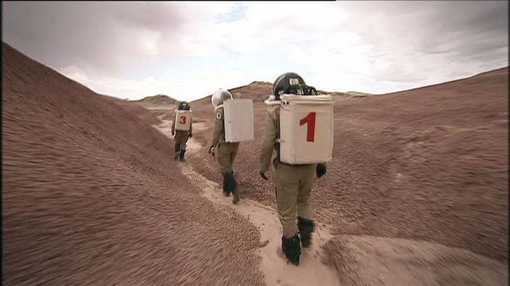 Utah çöllerinde Mars simülasyonu