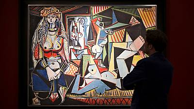 Picasso's 'Les Femmes d'Alger' smashes world auction record