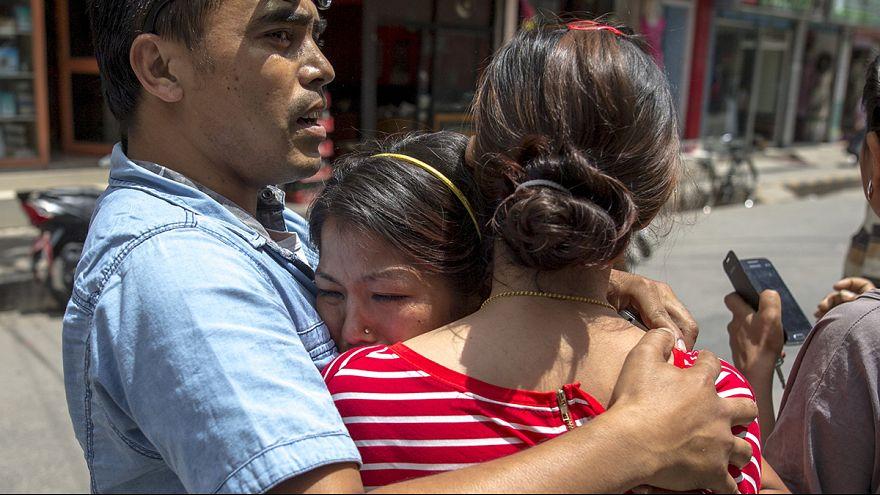 Pánico en Katmandú después de producirse un nuevo terremoto