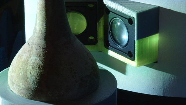 Hidden dimensions: 3D scanner reveals the inner secrets of artworks