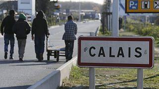 برخورد خشونت آمیز پلیس فرانسه با پناهجویان در منطقه کاله