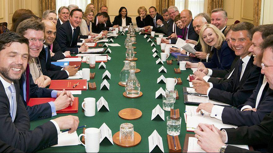 Великобритания: первое заседание нового правительства