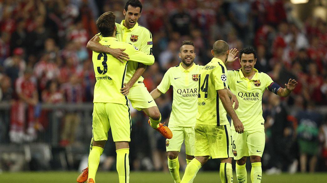 Barcelona through to Champions League final despite 3-2 Bayern loss