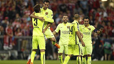 Bayern gewinnt - aber Barcelona im Finale